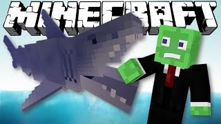 JAWS SHARK ATTACK! | Minecraft Story