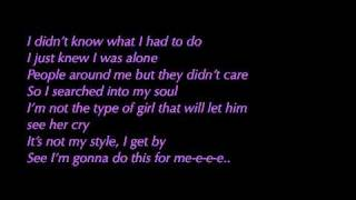 Sugababes - Stronger (Lyrics)