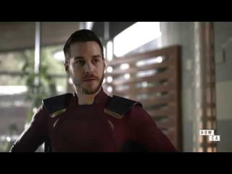 Supergirl 3x20. Kara and Mon-El. You didn't need that disguise after all