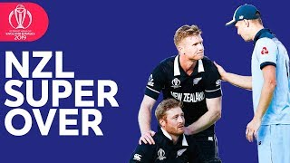 New Zealand Super Over   Every Ball   ICC Cricket World Cup 2019