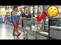 SNEAKING Merch into People's CARTS!