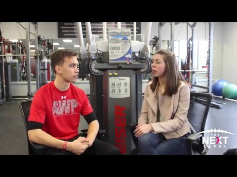 Class of '17 Quarterback Peter Morrison Interview with Tayla Davis