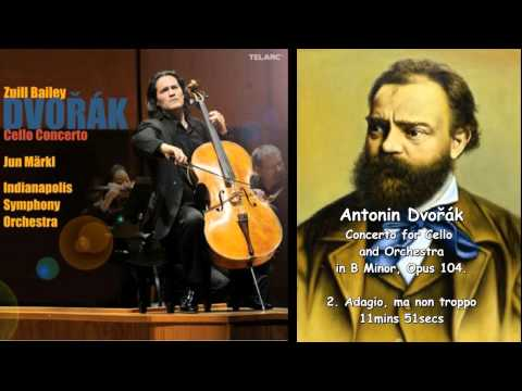 Zuill Bailey & Antonín Dvořák's Concerto for Cello and Orchestra in B-Minor, Op 104.  TELARC