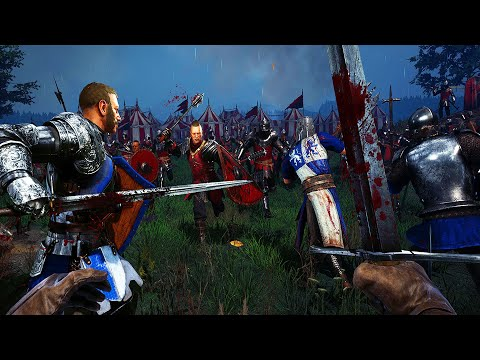 This Medieval Field Battle was GRUESOME! - Chivalry 2: Medieval Warfare |