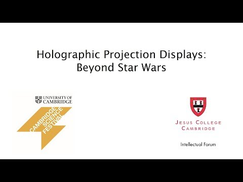 Beyond Star Wars: Professor Tim Willkinson explains Holographic