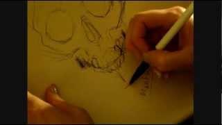ASMR drawing whisper