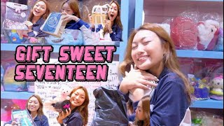 UNBOXING MY SWEET 17th BDAY GIFT // What I Got -Jessica Effendy