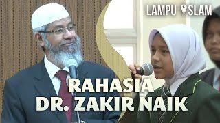 Rahasia Dr. Zakir Naik Menjadikan Anaknya Pendakwah Internasional