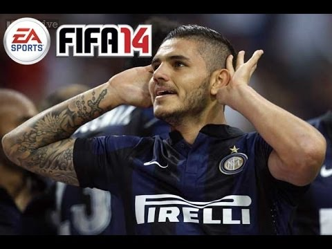 FIFA 14 Best Young Players In Career Mode - Icardi Review - BEAST Striker