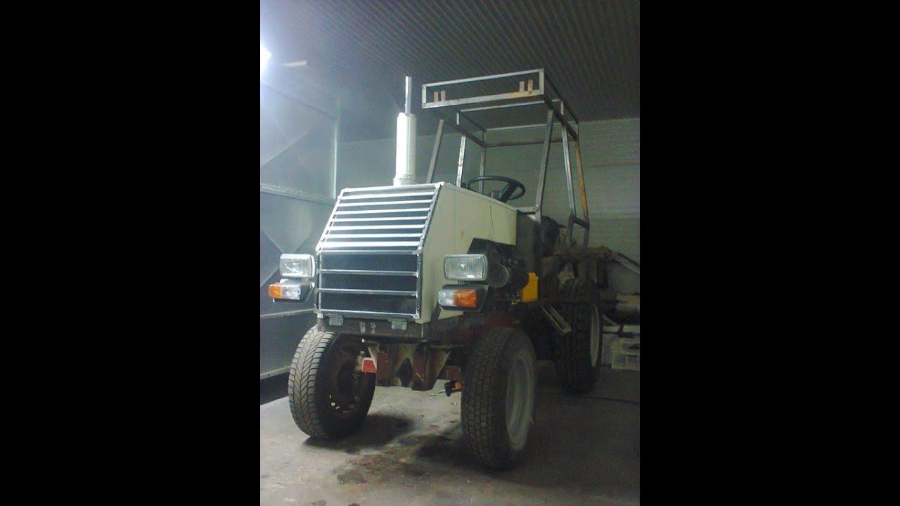 Трактор видео из москвича 171