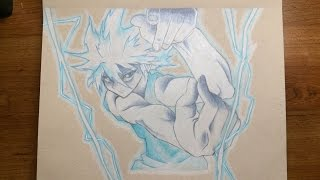 Killua Godspeed Drawing | Hunter x Hunter
