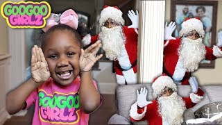 Goo Goo Gaby Plays Hide & Seek With Santa Clause! 🎄🎁(Learn to Count to 5 with Goo Goo Girlz)