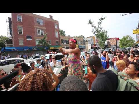 Summerhill Protest in Crown Heights, July 22, 2017