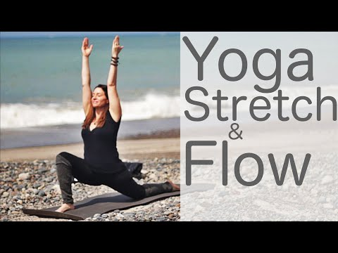 36 Minute Yoga Stretch and Flow on the Weekend or Anytime With Fightmaster Yoga