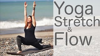Video 36 Minute Yoga Stretch and Flow on the Weekend or Anytime With Fightmaster Yoga download MP3, 3GP, MP4, WEBM, AVI, FLV Maret 2018