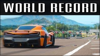 NEW 0-400-0 WORLD RECORD | Forza Horizon 4 | Forza Science #7