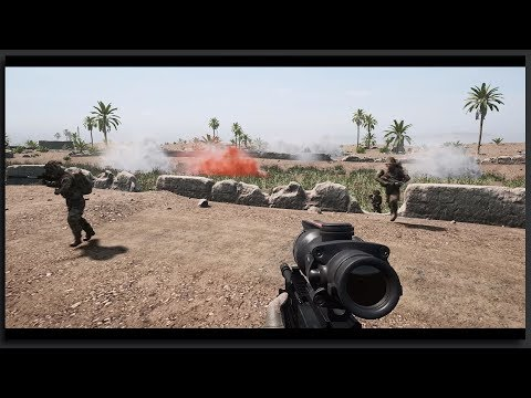 Leading Brutal British Charges - Immersive 40v40 Squad Gameplay