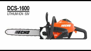 The DCS-1600 A Battery powered chainsaw like no other. See the features that make it special.
