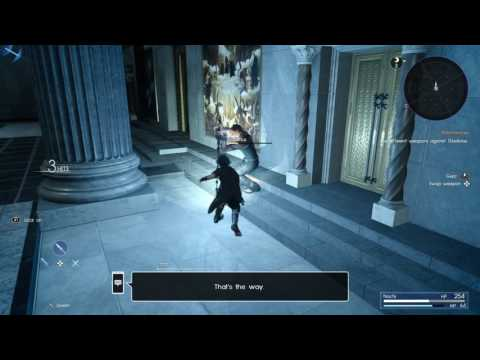 FINAL FANTASY XV Combat Tutorial: Weapons, Spells, and Wait Mode