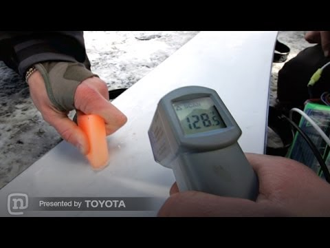 Speed Stick Heated Snowboard—Go Faster! Every Third Thursday