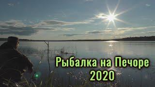 Рыбалка на Печоре 2020. Рыбалка, отдых, природа. Республика Коми.