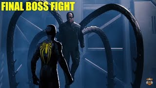 Spider-Man PS4|FINAL Boss Fight/Dr.Octopus.