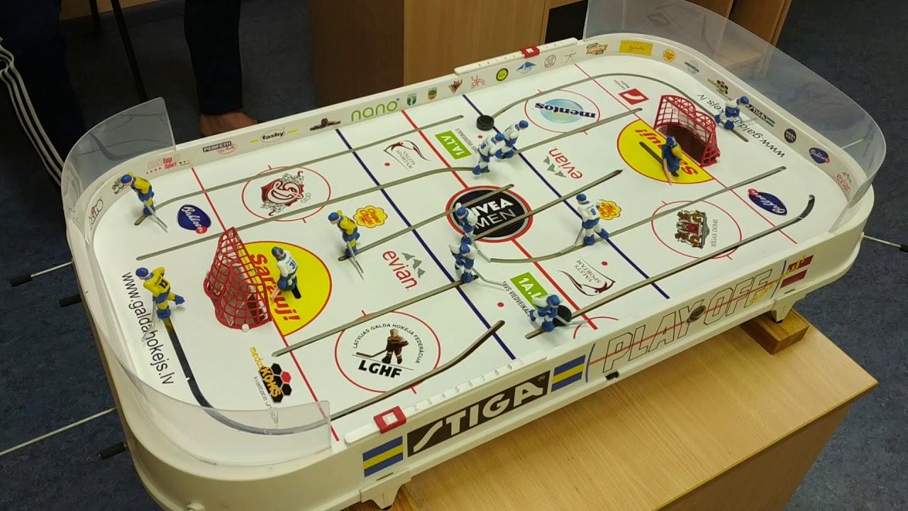 Galda hokejs - pamācība kā taisīt kokosu