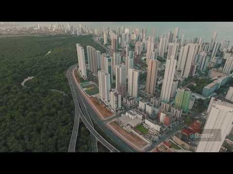 Recife| Via Mangue | Boa Viagem As melhores Imagens Aéreas