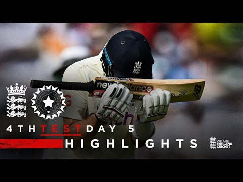 India Win To Take 2-1 Lead | England v India - Day 5 Highlights | 4th LV= Insurance Test 2021