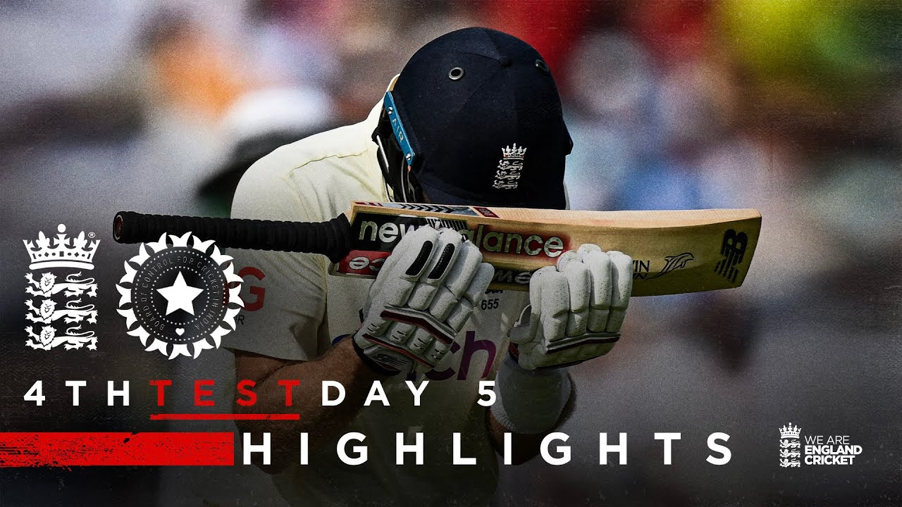 Download India Win To Take 2-1 Lead   England v India - Day 5 Highlights   4th LV= Insurance Test 2021