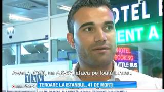 Imagini șocante! Atrocitatea atacurilor de la aeroportul Ataturk din Istanbul
