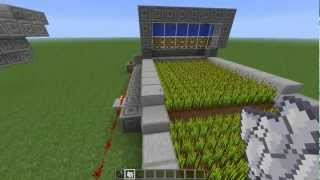 Minecraft Wheat Farm Tutorial - Your Average Wheat Farm With A Twist
