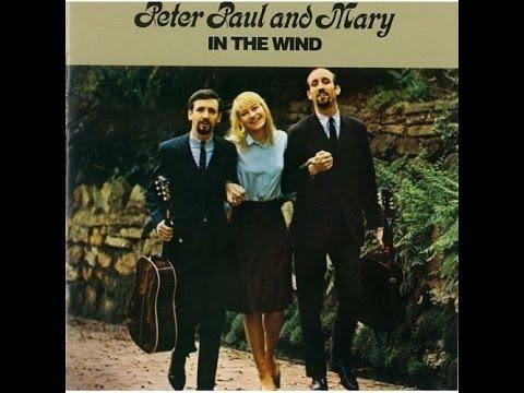 Peter, Paul & Mary_ In The Wind (1963) full album