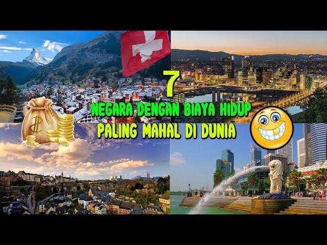 7 NEGARA dengan Biaya Hidup Paling Mahal di Dunia ???? ✔