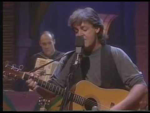 We Can Work it Out - Paul McCartney Unplugged