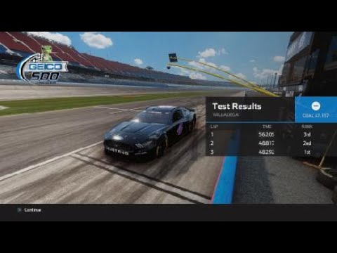 NASCAR Heat 5 nerfing cars part 2 |