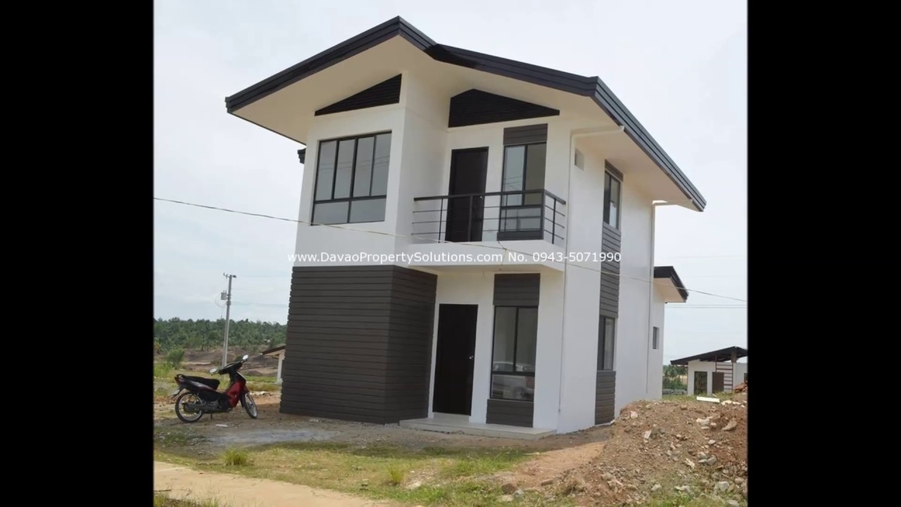 50 Small Two Story House Design With Terrace Youtube