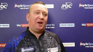 Glen Durrant DEMANDS 'More Respect' from Michael Smith as he squeezes past Schindler
