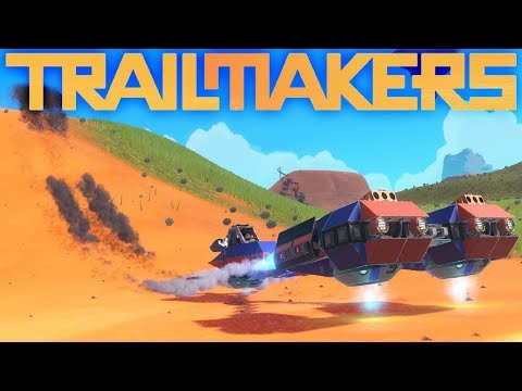 Trailmakers - Game Update New Race World! - Amazing Trailmakers Creations - Trailmakers Gameplay