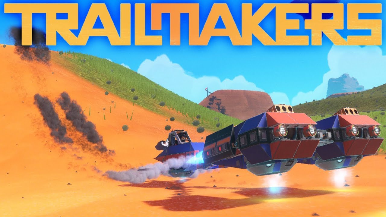 Trailmakers - Game Update New Race World - Amazing -4722