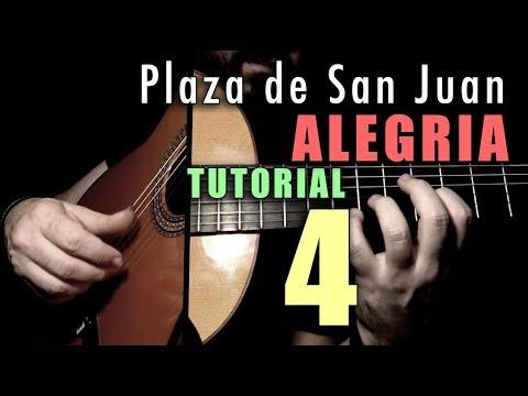Mixed Technique Exercise - 15 -  Plaza De San Juan (Alegria) By Paco De Lucia