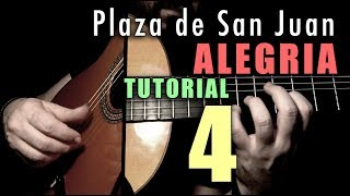 Mixed Technique Exercise - 15 -  Plaza de San Juan (Alegria) by Paco de Lucia
