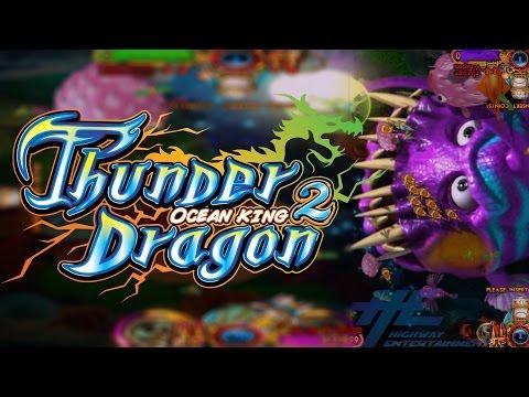 Thunder Dragon Ocean King 2 Game Play Demo