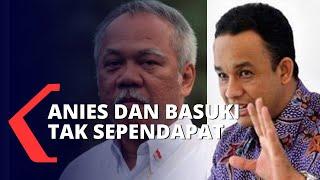 Silang Pendapat Basuki Vs Anies Baswedan Soal Penanganan Banjir Jakarta