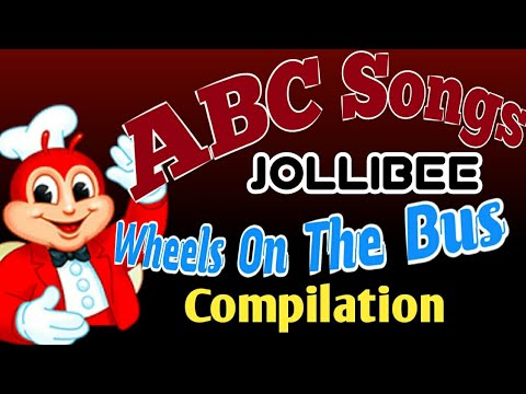 jollibee-finger-family-|-abc-songs-|-wheels-on-the-bus-go-round-and-round