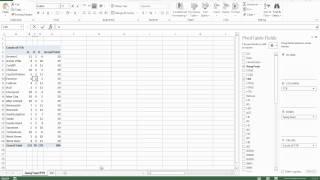 SoccerExcel - Введение в работу со сводными таблицами Excel