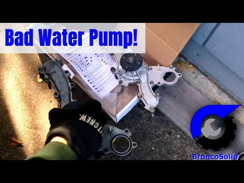Toyota 3.5L V6 Water Pump Replacement:  Removing engine not required!