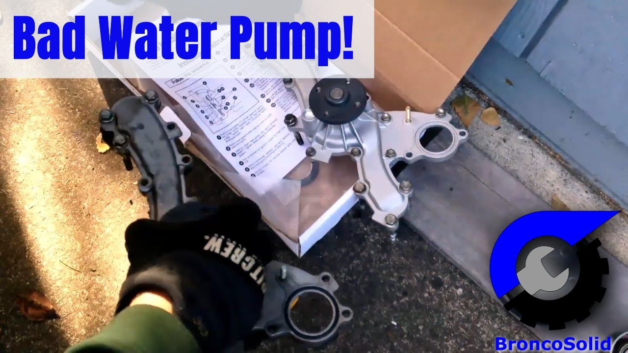 toyota 3 5l v6 water pump replacement removing engine not required  [ 1280 x 720 Pixel ]