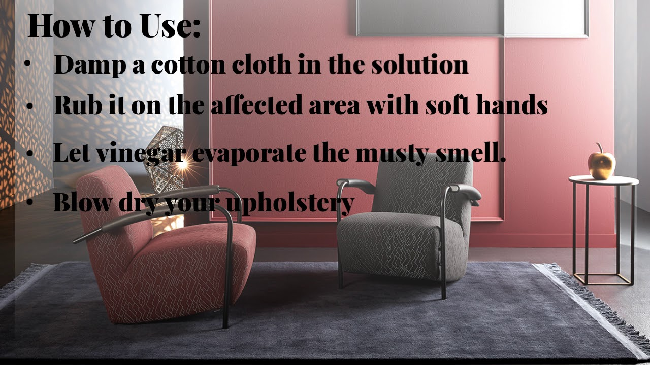 Are You Sick Of Musty Smell On Upholstery?