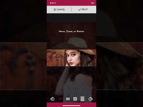 PhotoSplit - Split Photo to Grid for Instagram (iOS App)